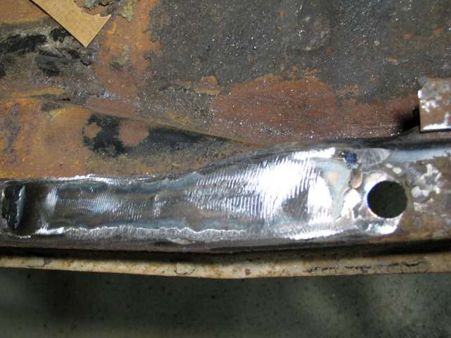 vw pan welded patch