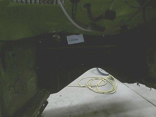 new firewall inside car view